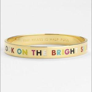 "Kate Spade ""Look on the Bright Side"" Bracelet"